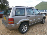 "98 S JEEP GRAND CHEROKEE 4.0 ORVIS AUTOMATIC 4X4 ""SPARES OR REPAIR"" RUNS WELL"