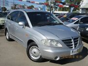 2005 Ssangyong Stavic A100 Limited Silver 5 Speed Sports Automatic Wagon Gepps Cross Port Adelaide Area Preview