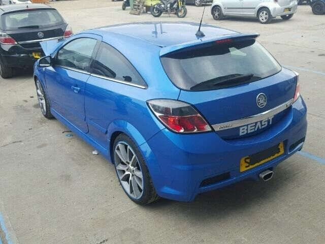 Astra vxr 2009 rear tailgate bootlid with spoiler Arden blue vgc 07594145438