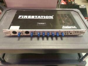 PreSonus Mixer/Pre-Amp. We have used music insturments. 33355