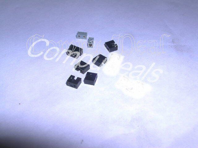 100 Jumpers/shunt: Micro 2 Pin  Cd, Pc, Scsi, Ide, Hd, Network, 2.0mm See Desc.