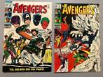 Avengers #60 and #61 - Lot of two with key-issue, wedding of