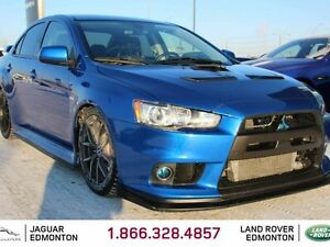 2012 Mitsubishi Lancer Evolution MR - LOCAL EDMONTON TRADE IN |