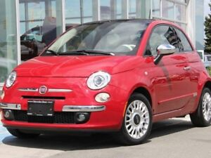 2013 Fiat 500 Fiat 500 Lounge | Beats Audio | Manual Transmissio