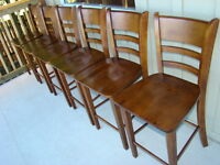 Six Counter Height Stools $75 each