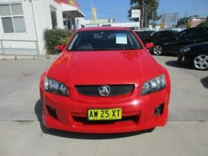 2008 Holden Commodore VE MY09 SV6 Red 5 Speed Automatic Wagon