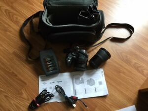 FINEPIX S2000HD CAMERA and case:
