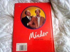 Minder manual vintage 1985 still sealed brand new
