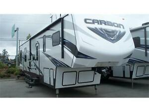 Keystone CARBON F387 5TH WHEEL TOY HAULER