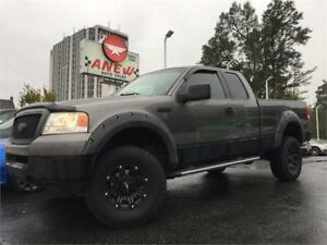 """2005 Ford F-150 XLT 4x4 Lifted 17"""" Aftermarket Wheels"""