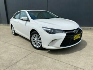 2015 Toyota Camry ASV50R Atara S Sedan 4dr Spts Auto 6sp, 2.5i (Apr) [Apr] White Sports Automatic Villawood Bankstown Area Preview