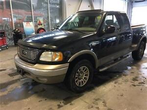 "2003 Ford F-150 supercab flareside 4x4 139"" King ranch $8295"