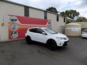 2013 Toyota RAV4 ZSA42R GX (2WD) White Continuous Variable Wagon West Gosford Gosford Area Preview