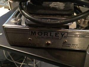 Vintage Morley Tel-Ray VCO 1982 Silver