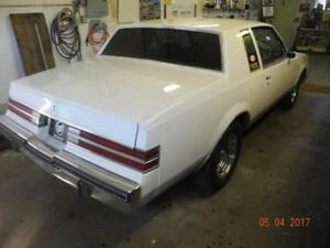 1981 Buick Regal rolling chassis with parts car