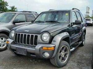 2004 Jeep Liberty mountain SUV, Crossover2004