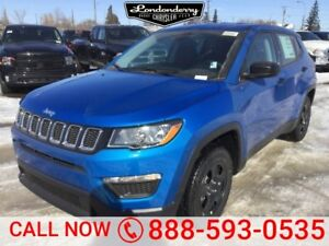 2018 Jeep Compass SPORT           Air Conditioning  Touchscreen