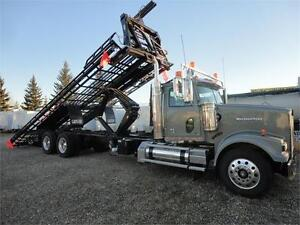 2010 Western Star with Brand New Cancade Bale Deck