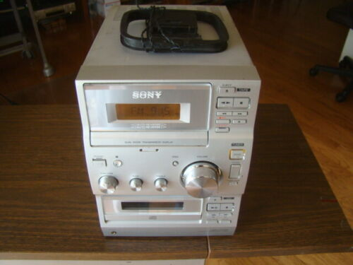 Sony CMT-CP100 Compact Disc Deck Receiver Fully Tested Great Working Condition