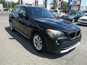 2012 BMW X1, AWD, AUTO, CUIR, TOIT PANO, BLUETOOTH, MAGS, A/C,