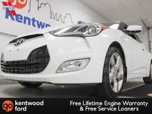 2013 Hyundai Veloster 6-SPD manual with heated seats and a back