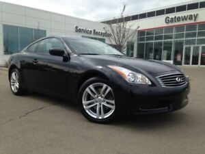 2010 Infiniti G37 Coupe G37x AWD Coupe - Leather, Heated Seats,