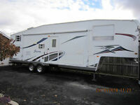 FIFTH WHEEL SIERRA 32 PIEDS 2005