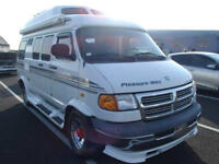FRESH IMPORT DODGE RAM RV ASTRO EXPRESS GMC PETROL 4 BERTH CAMPER DAY VAN WHITE
