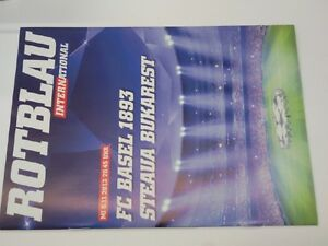 Programm FC BASEL - STEAUA BUCHAREST 13/14 Champions League Switzerland Romania - <span itemprop='availableAtOrFrom'>Poland, Polska</span> - Programm FC BASEL - STEAUA BUCHAREST 13/14 Champions League Switzerland Romania - Poland, Polska