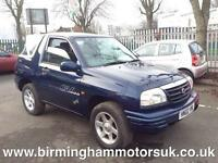 2002 Suzuki Grand Vitara Sport 16V 3DR Estate BLUE