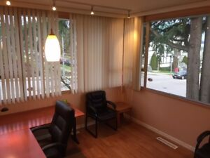 Corner office for lease on busy 6th Street