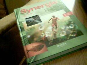 Synergie - 2e cycl (1 année) Manuel ST-ATS comme NEUFFFFFFFFF