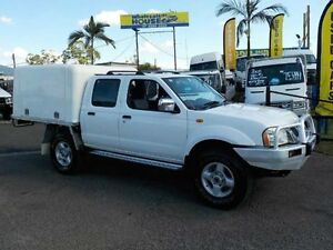 2006 Nissan Navara D22 S2 ST-R White 5 Speed Manual Cab Chassis Coopers Plains Brisbane South West Preview