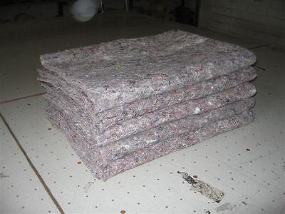 Packdecken - Möbeldecken - Möbelpackdecken - Umzugsdecken 5 Stück (1,17 €/m²)
