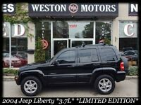 2004 Jeep Liberty 3.7L LIMITED EDITION*4X4*LEATHER*
