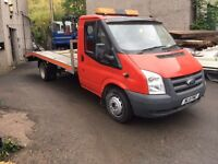 2011 transit recovery truck full alloy body
