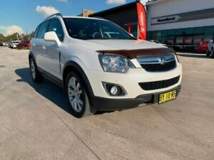 2013 Holden Captiva CG MY13 5 AWD LTZ White 6 Speed Sports Automatic Wagon Muswellbrook Muswellbrook Area Preview