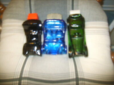 LOT of THREE(3) VINTAGE AVON CARS Maxwell '23, Dune Buggy, Electric Charger NICE