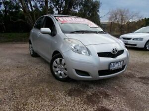 2009 Toyota Yaris NCP91R MY09 YRS Dark Grey 4 Speed Automatic Hatchback Bayswater North Maroondah Area Preview