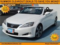 2010 Lexus IS C IS 250C, $89/Weekly, APPLY TODAY, DRIVE TODAY!