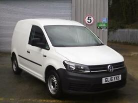 Volkswagen Caddy 2.0 Tdi Bluemotion Tech 102Ps Startline Van DIESEL WHITE (2016)