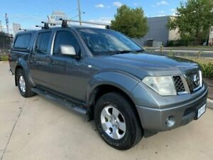 2010 Nissan Navara D40 ST Grey 5 Speed Automatic Utility