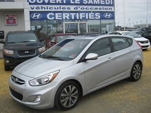 2017 Hyundai Accent 5 SE **Mags** Toit ouvrant**