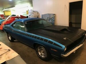 1970 Cuda AAR 4 speed real deal