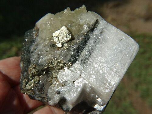 Australian Pyrite & Calcite Rough 2210 ct Specimen