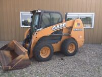 CASE SR250 SKID STEER ---980HOURS--NEW TIRES--OPEN TO OFFERS