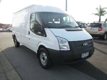 2012 Ford Transit VM 350 Mid Roof LWB Frozen White 6 Speed Manual Van Heatherton Kingston Area Preview