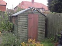 Garden shed 8' by 6'