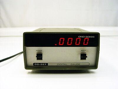 Ono Sokki Dg-357 Digital Gauge Counter