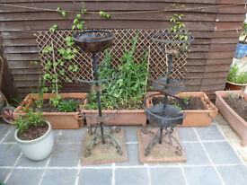 3 Tier flower fountain planter